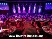 theatre on the track venue dimentions